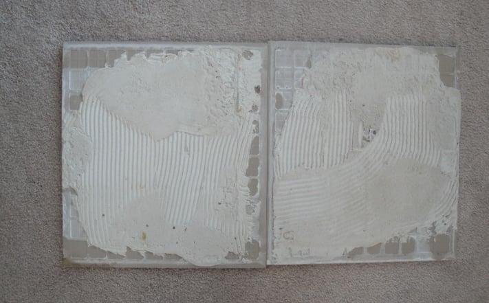 Improper Mortar Coverage
