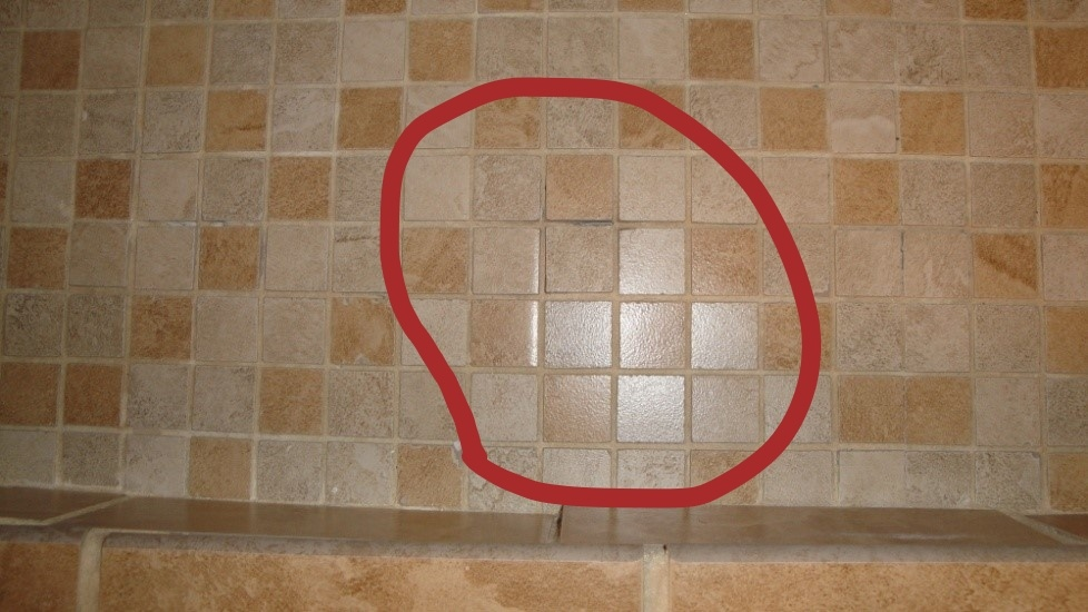 Missing Grout In Shower Floor