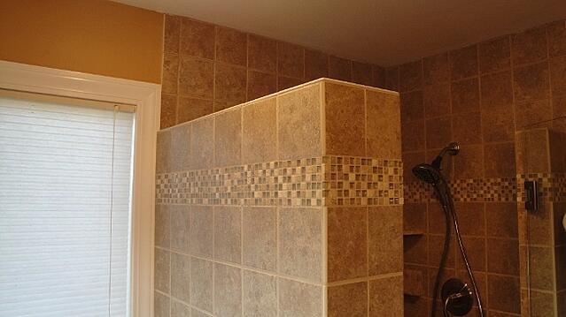 Certified Tile Installers create proper tile ledges