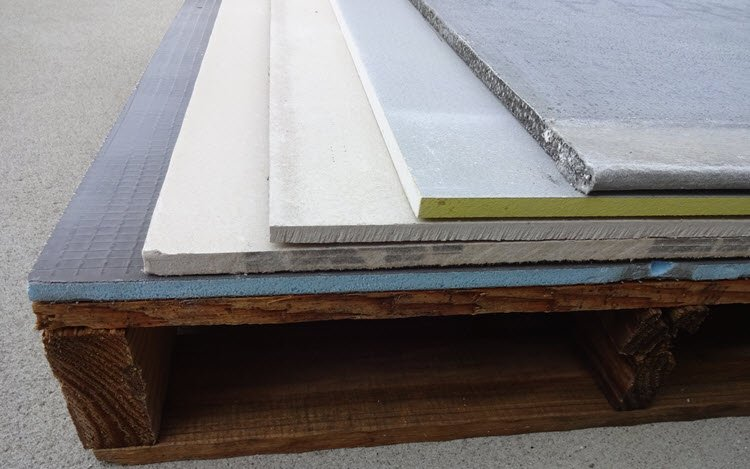Examples of Backer Board Underlayments