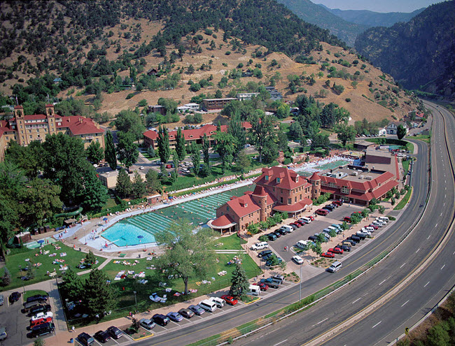 A Brekhus' large commercial project: Glenwood Hot Springs Resort & Spa