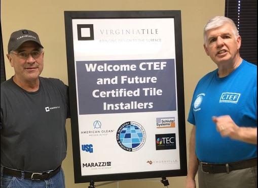 Meet a Serial CTI Test Host: Brent Stoller, Virginia Tile