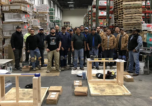 Daltile San Antonio, Texas, Hosts Hands-On CTI Test