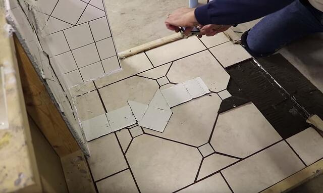 Grading the Toughest 25 Square Feet of Tile You'll Ever Install (Video)