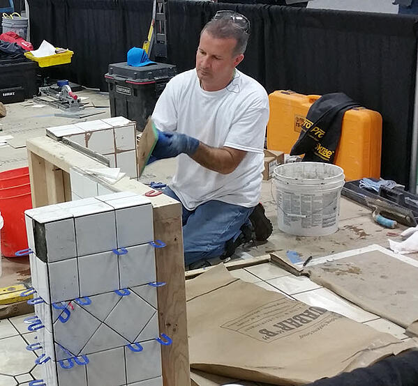 Prove Your Tile Installation Skills Says John Mourelatos