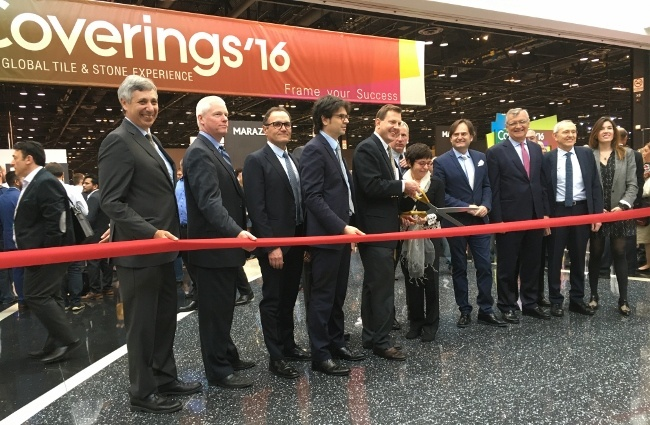 Coverings is the largest tile and stone show in North America