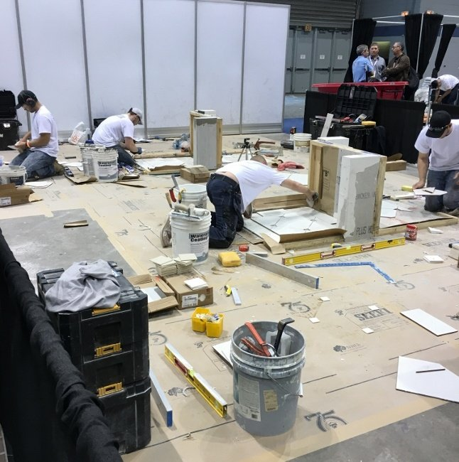 CTI Hands-on Test During Coverings 2016