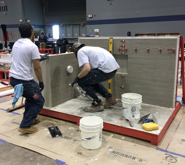 ACT Hands-on Test During Coverings 2016