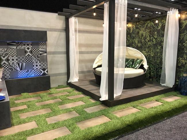 Brad Denny CTI #1190 Discusses Hidden Oasis Tile Installation