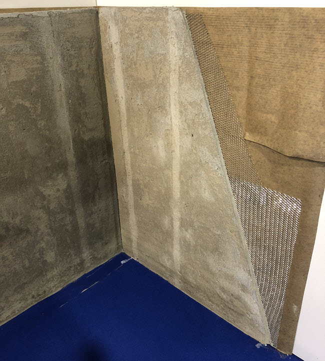 ACT for Mortar or Mud Bed Walls