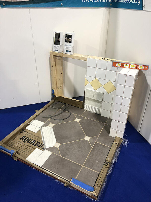 Testing for this certification program comes from the Ceramic Tile Education Foundation (CTEF).