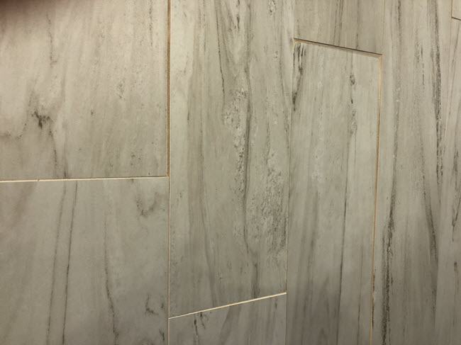 Inconsistent Grout Joints