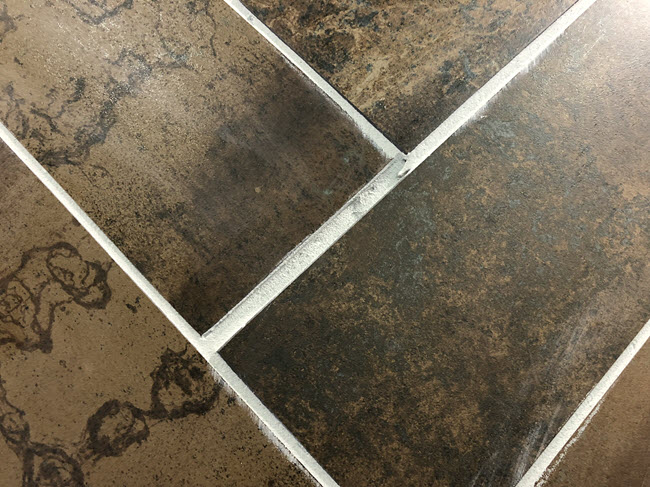 Misaligned and Unsightly Tile