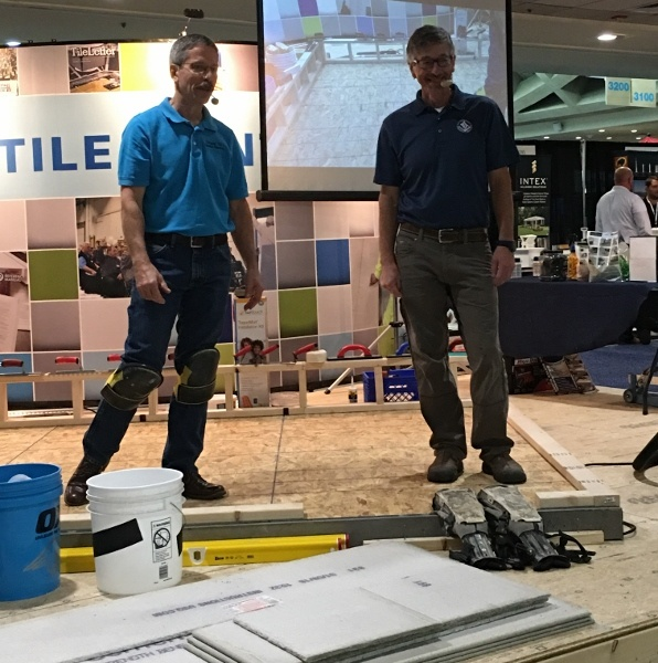 Seeing Proper Tile Installation is Believing: Remodeling Show, Baltimore
