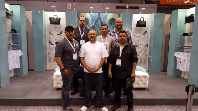 """""""The A-Team"""" marks the completion of Artcraft's fourth successful IDS. From (L to R) Jose Hernandez, James Woelfel, Ed Reynoso, Marcos Delgado, Christian Lopez, Jose E. Gonzalez"""