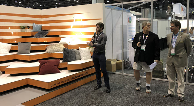 Interstruct and CC Owen Tile Company at Coverings 19