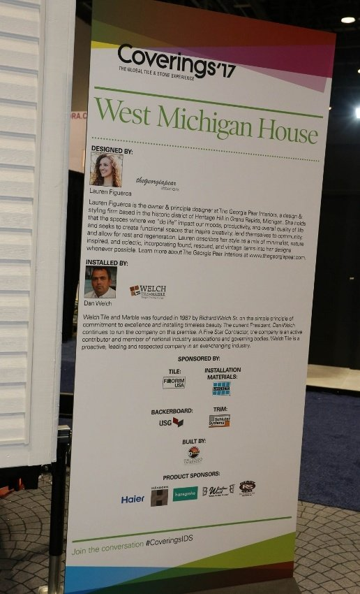 Dan Welch from Welch Tile and Marble Offers Perspective on the West Michigan Tiled Tiny House