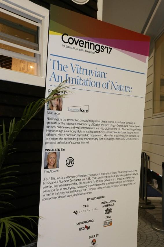 Erin Albrecht Talks Tile and the Vitruvian Tiny House