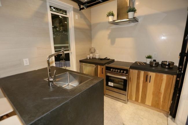 Laminam in the Vitruvian Kitchen Space