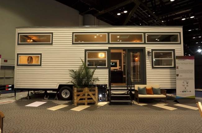 Dan Welch Talks About the West Michigan Tiled Tiny House