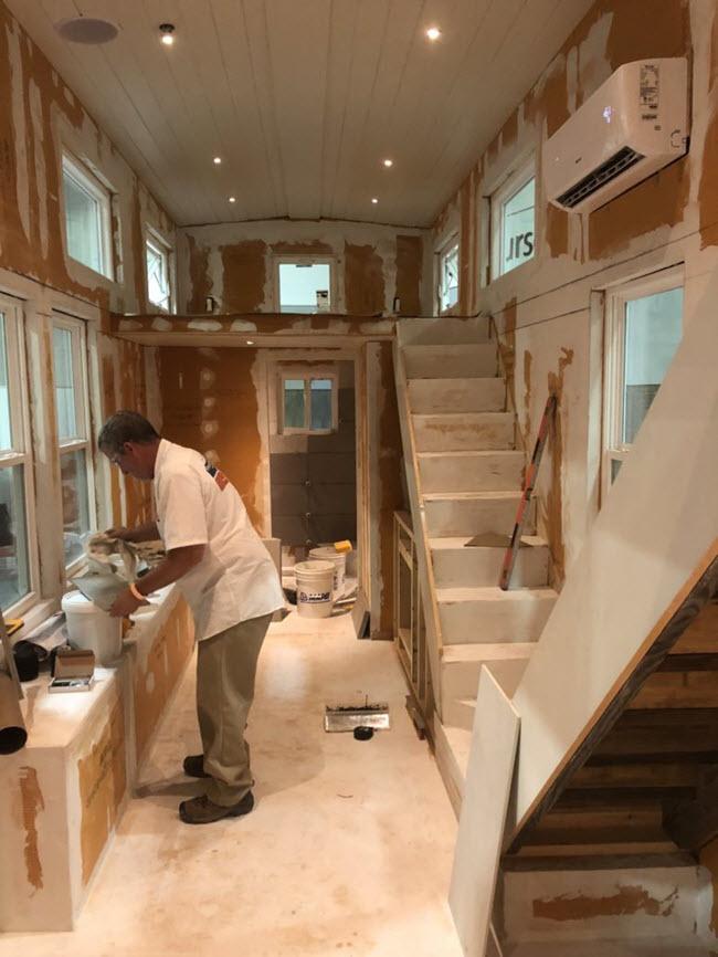 Certified Tile Installers were part of Visalia Ceramic Tile's team.