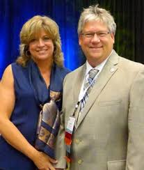 John Cox and his wife Lori - Cox Tile