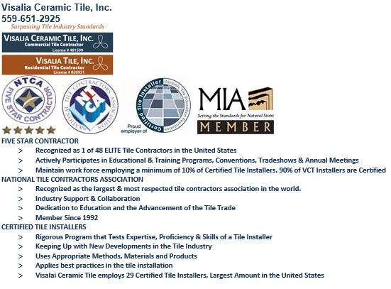 Sam Bruce's email signature promotes the benefits of Certified Tile Installers
