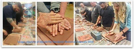 Merola Tile Hand-Print Mural Workshop