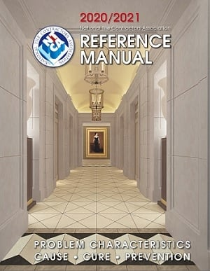 The National Tile Contractors Association produces the NTCA Reference Manual