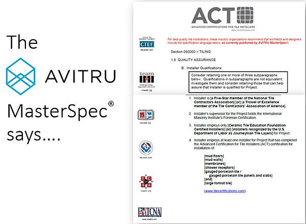 Construction Specifications Expert AVITRU  now includes Qualified Labor in its MasterSpec® specification software.