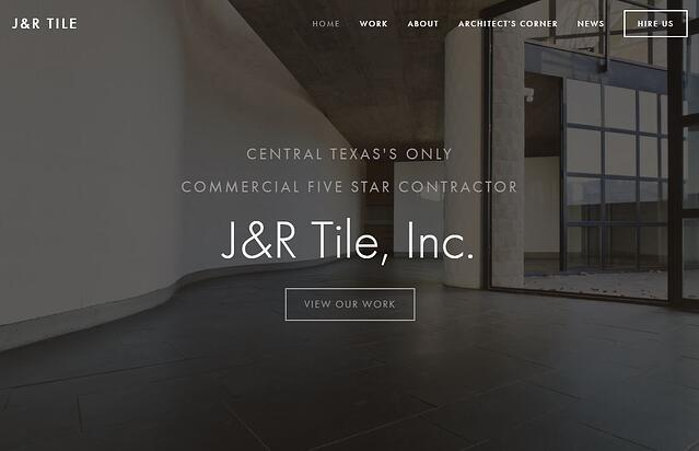 J&R Tile: 5 Star NTCA Contractor in Texas committed to Certified Tile Installation