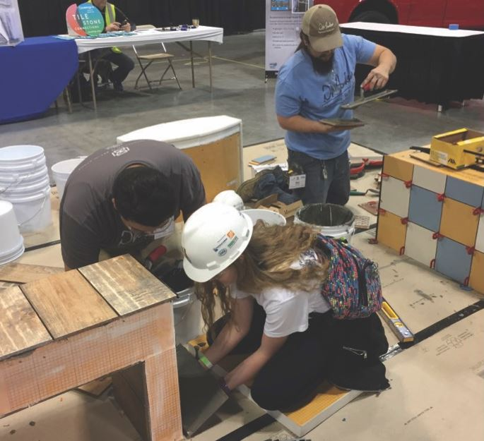 Ready to Get Involved with SkillsUSA and Tile Setting? Here are Resources.