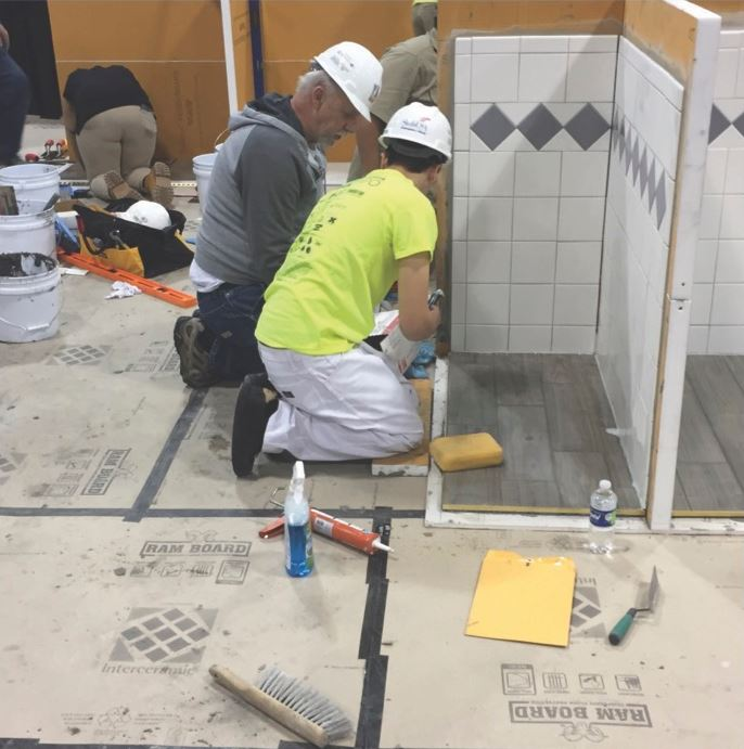 A SkillsUSA Tile Setting Success Story