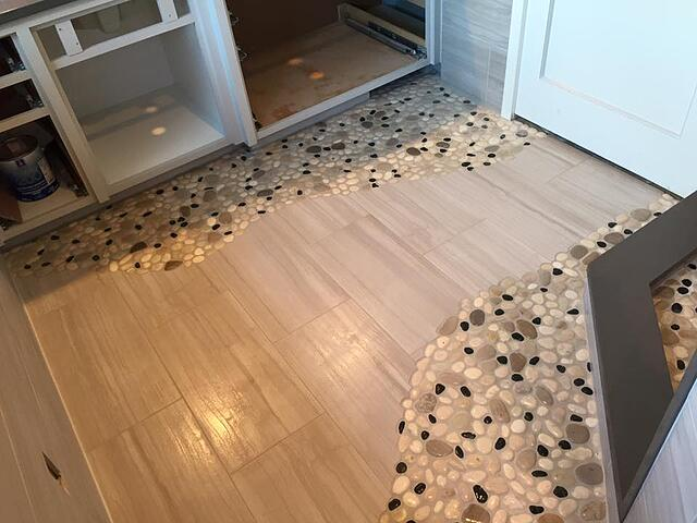 Stoneman Construction tile installation