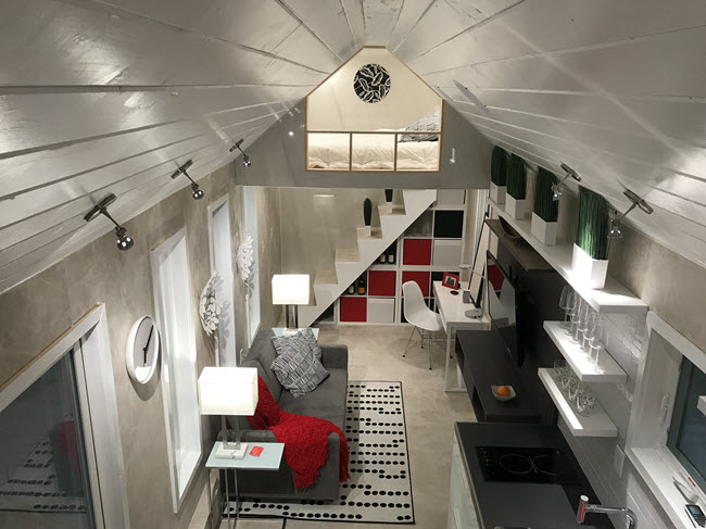 Coverings CG Villa Features Beautiful Tile Tiny Home Solution