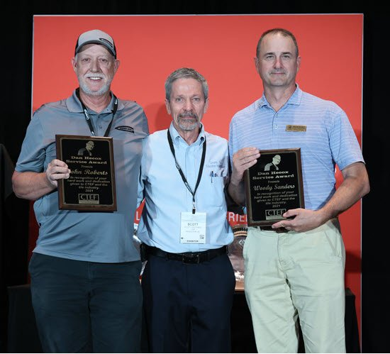 CTEF Honors Two Tile Industry Contractors with Newly Created Dan Hecox Service Award
