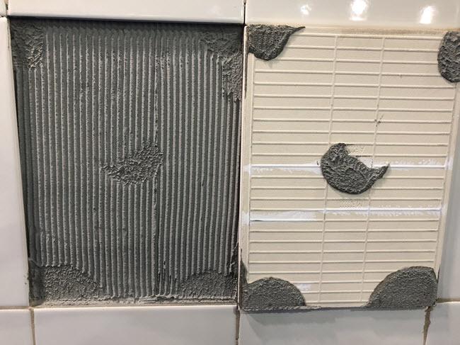 Eliminate five spotting from your ceramic tile installation methods!