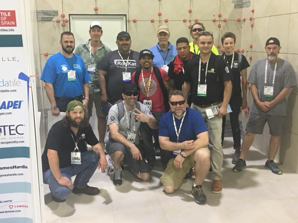 Tile Installers at Coverings18