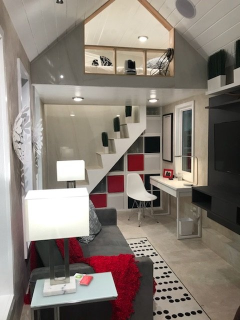 J&R Tile worked with Carson Guest Design for the Coverings 2018 Tiny House project