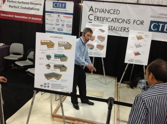 Scott Carothers and the CTEF Team Welcome You to the Ceramic Tile Education Foundation Blog