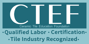 CTEF: Qualified Labor, Certification, Tile Industry Recognized