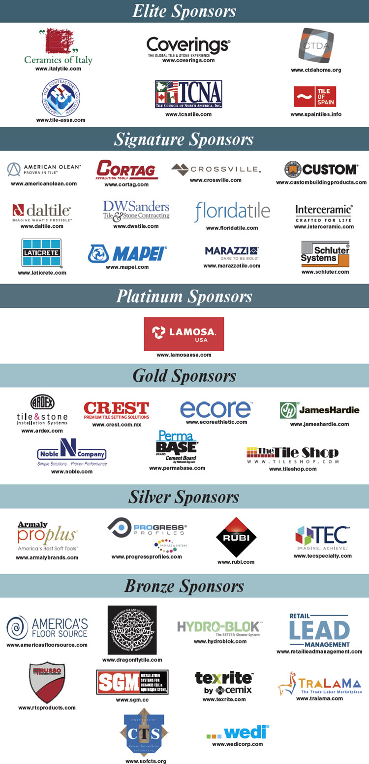 Many thanks to CTEF's Corporate Sponsors!