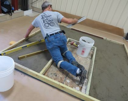 Advanced Tile Installation Certifications (ACT) hands on
