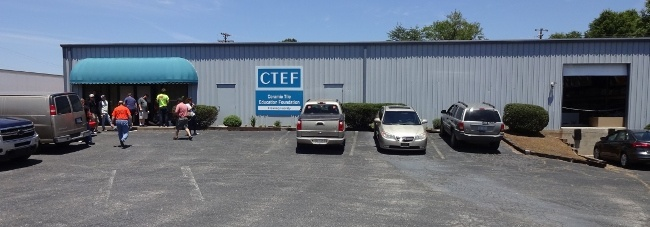 The CTEF's training center is a 9,000 square-foot facility located in Pendleton, SC