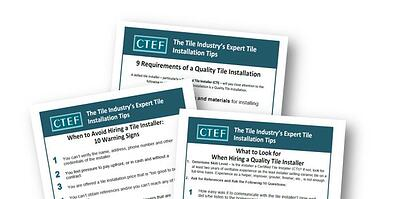 Hiring a Tile Installer? Here's What You Need to Know