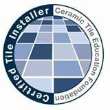 Certified Tile Installer Badge | CTI Badge