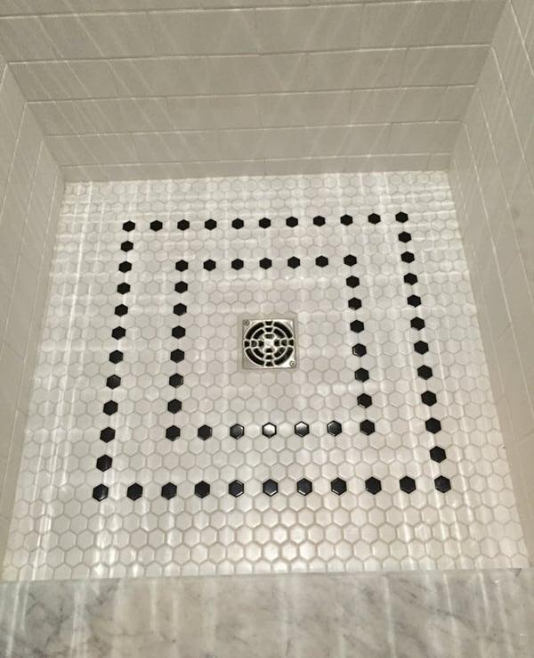Bill Baptista CTI #834 shower floor design