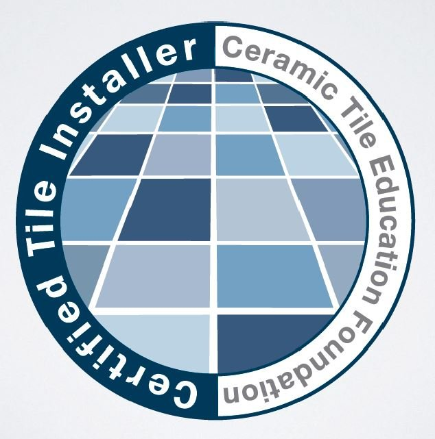 The Certified Tile Installer Badge from CTEF