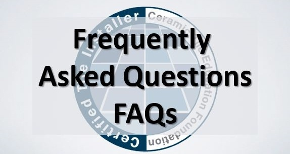 FAQs about tile certification