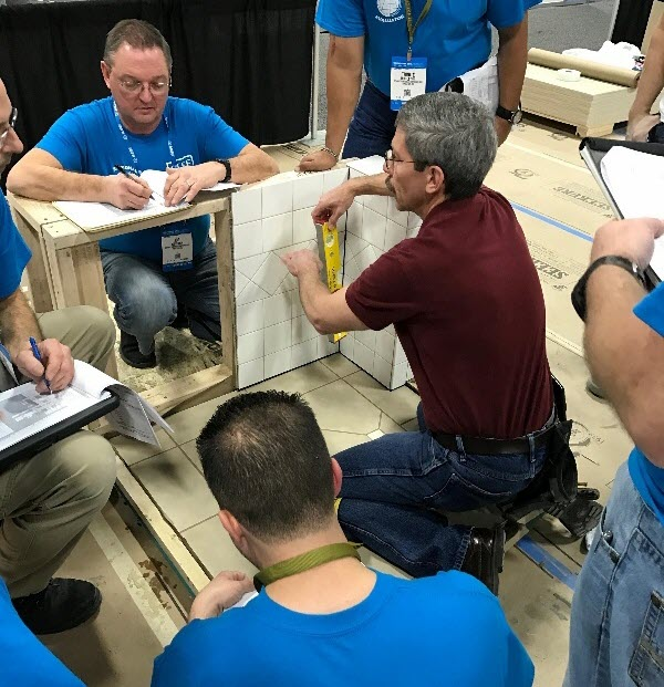 Evaluators Expand the Certified Tile Installer Program Reach